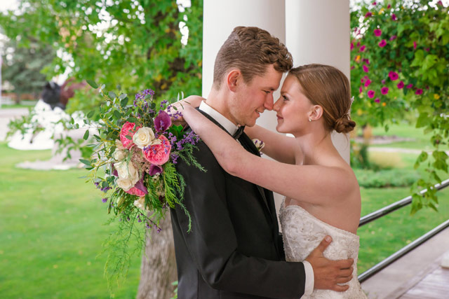 Montana Wedding at the Sacajawea Inn