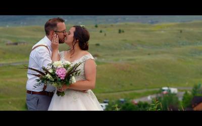 Chico Hot Springs Wedding – Ashley and Joe